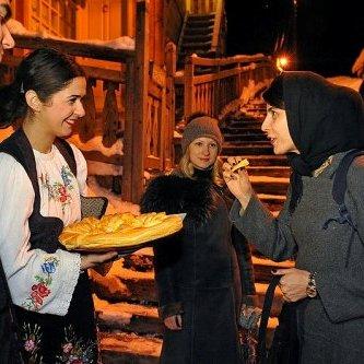 لیلا حاتمی در صربستان