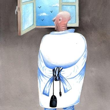70 کاریکاتور مفهومی و تفکر برانگیز