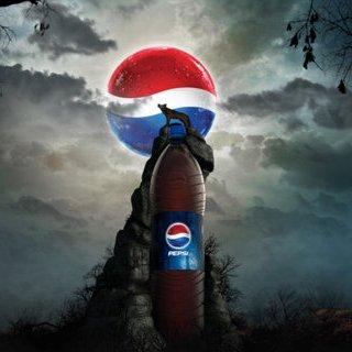 بمب تبلیغاتی – آرم پپسی را بر روی کره ی ماه ببینید !