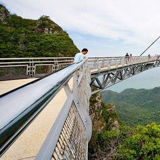 عکس های جالب از پل معلق در مالزی
