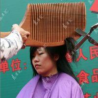 خنده دارترین روش کوتاه کردن مو یک دختر / واقعی + عکس