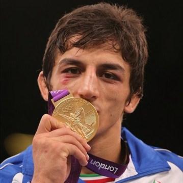 طلم کشتی فرنگی شکسته شد / حمید سوریان اولین طلایی ایران در المپیک
