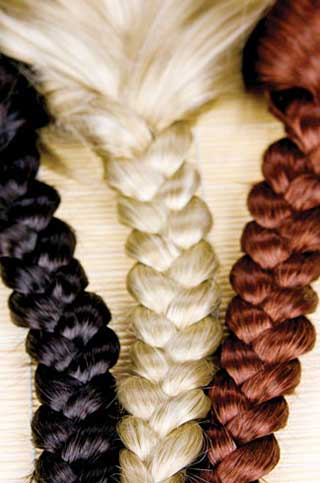 رنگ کردن موها با رنگ های طبیعی!