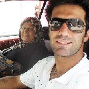 آن روی شیث رضایی قهرمان روستای حمیدآباد!