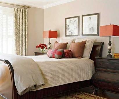 چند پیشنهاد رنگی برای اتاق خوابی آرام !