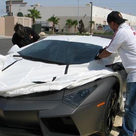 تصاویر تحویل خودروی سفارشی لامبورگینی