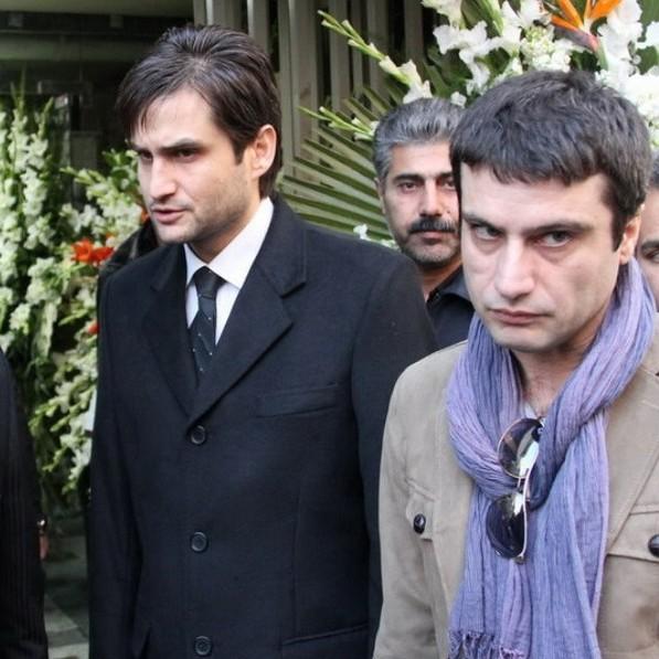 عکسهای مراسم ختم ساناز کیهان بازیگر سریال خط قرمز