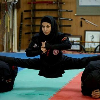 دانلود کلیپ زنان نینجا ایرانی پخش شده از pressTV