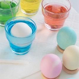 آموزش تصویری رنگ کردن تخم مرغ مخصوص سفره هفت سین عید نوروز 1391