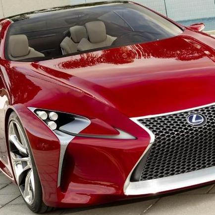 عکس هایی از اتومبیل لکسوس LF-LC
