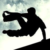 عکس های متحرک آموزش و خطرات ورزش پارکور