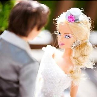 تصاویر کامل از عروسی باربی و همسرش کن
