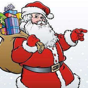 دردسر شباهت یک مرد به بابا نوئل ! + عکس
