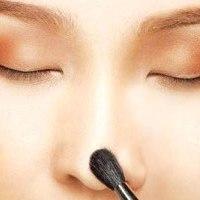 با آرایش بینی تان را کوچک کنید + عکس