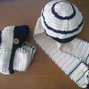 آموزش بافت شال و کلاه نقاب دار سرهم…!