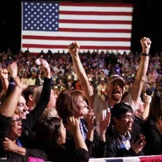 پیروزی باراک اوباما در انتخابات آمریکا + تصاویر شادی طرفداران وی