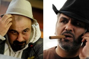 مهران مدیری، رضا عطاران و علی قربانزاده در یک سریال
