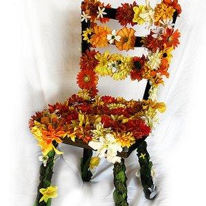طراحی و دوختن روکش صندلی برای حمام+عکس