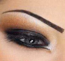 آموزش تصویری آرایش چشم دودی