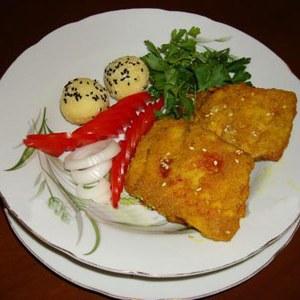 طرز تهیه شنيتسل ماهي برای شب عید