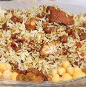طرز تهیه ی نخودپلو با كشمش پلويی(غذای سنتی گلستان مخصوص سحر)