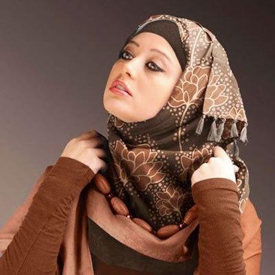 جدیدترین مدل های بستن شال و روسری