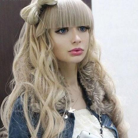 عکس های دختر زیبایی که مثل باربی است – barbie