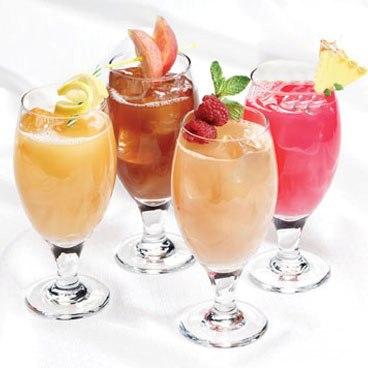 طرز تهیه ی نوشیدنی گلابی و نارگیل