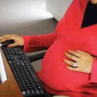 زنان باردار شاغل