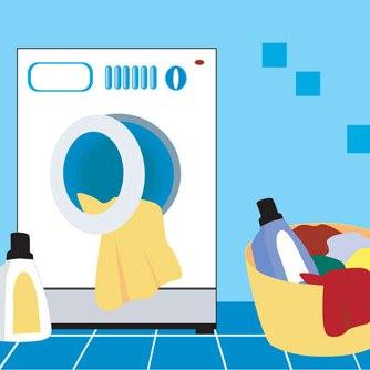 نحوه تمیز کردن ماشین لباسشویی
