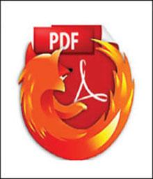 مشاهده PDF با فايرفاكس