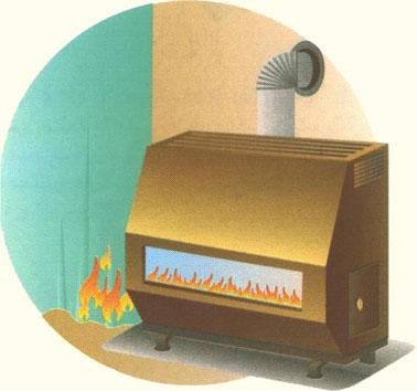 نکات مهم در مورد بخاری گازی
