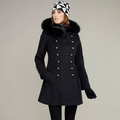 پالتو و کلاه زمستانی زنانه 2013
