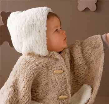 آموزش رج به رج پانچو برای کوچولوها