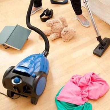 تمیز کردن خانه در نیم ساعت