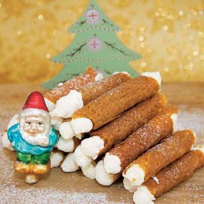 شیرینی لقمه ای مخصوص کریسمس