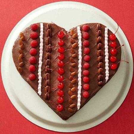 دسر و کیک های روز عشق