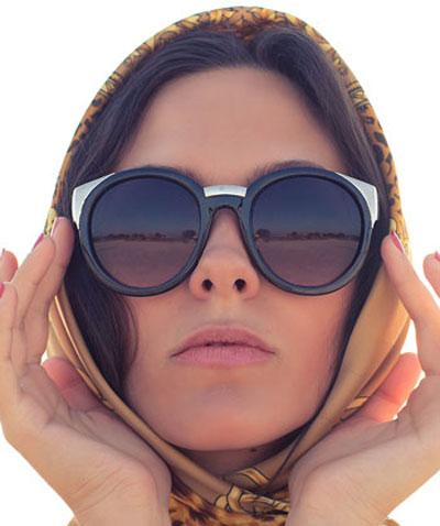 روش انتخاب عینک آفتابی برای خانوم ها