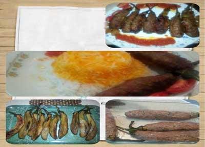 طرز تهیه بادمجان گوشتی کبابی