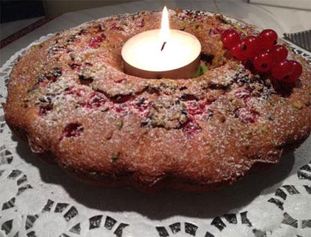 کیک پسته ای یوهانس بر آلمانی