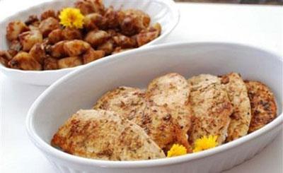 طرز تهیه مرغ سرخ شده با لیمو عمانی