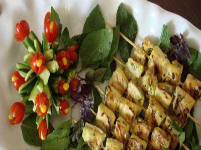 طرز تهیه ماهی کبابی غذای ویژه ی پیک نیک