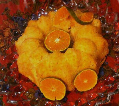 روش پخت کیک نارنگی