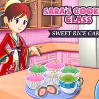 کلاس آشپزی سارا / کیک برنجی