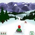 مسابقه اسكي روي برف