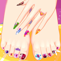 آرایش ناخن دست و پا