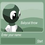 Babycal throw