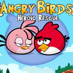 پرندگان خشمگین/نجات قهرمانانه