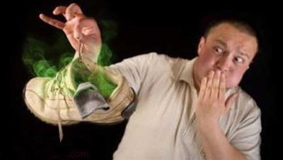 روش های برطرف کردن بوی بد کفش
