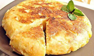 طرز تهیه نان پنیر و سیب زمینی